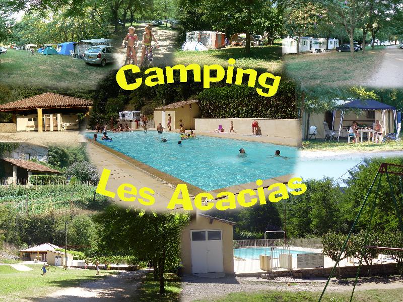 Camping Les Acacias Uzer