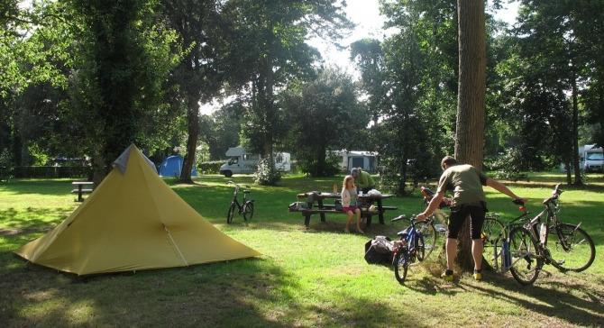 Campsite Camping de Port Mulon Nort Sur Erdre