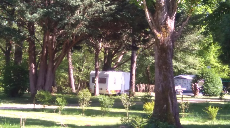 Campingplatz camping d'Auberoche Le Change