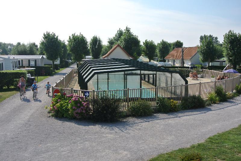 Campingplatz Flower Les Vertes Feuilles Quend-Plage