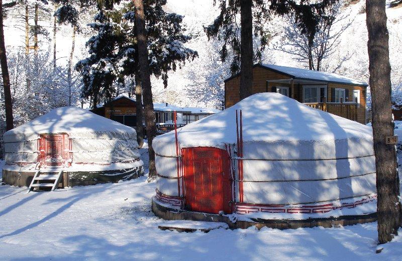 Campingplatz Le Reclus BOURG SAINT MAURICE   SEEZ