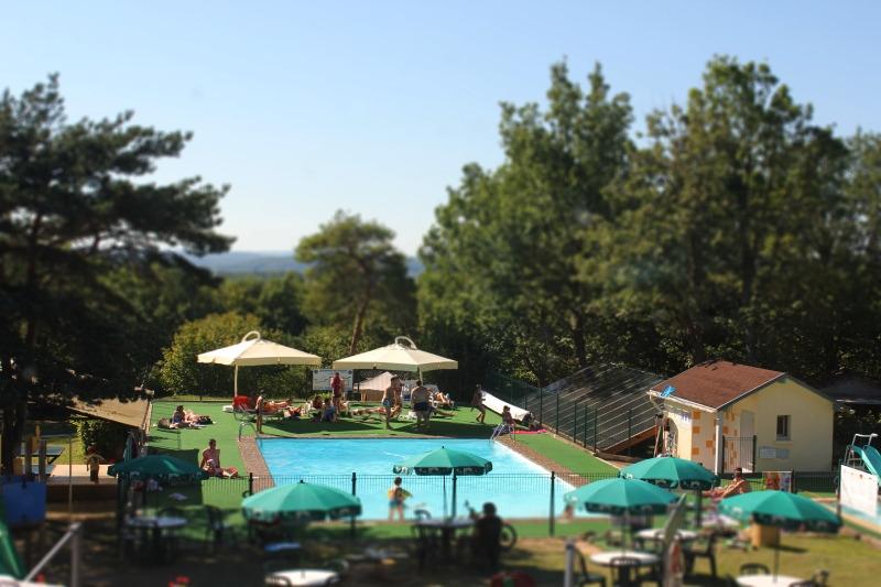 Campingplatz Sites et Paysages Les Hirondelles LOUPIAC
