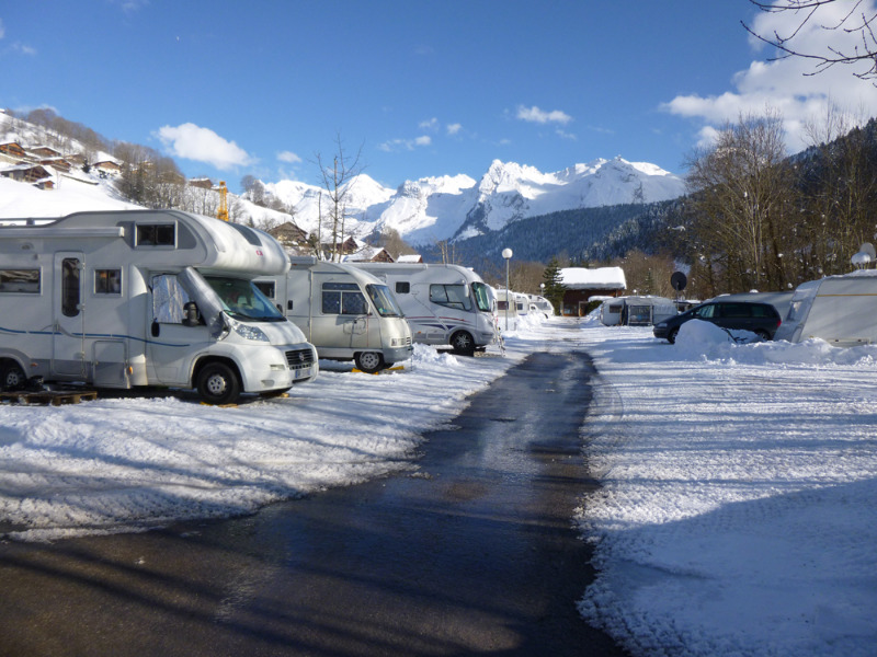 Campingplatz Le Clos Du Pin Le Grand Bornand