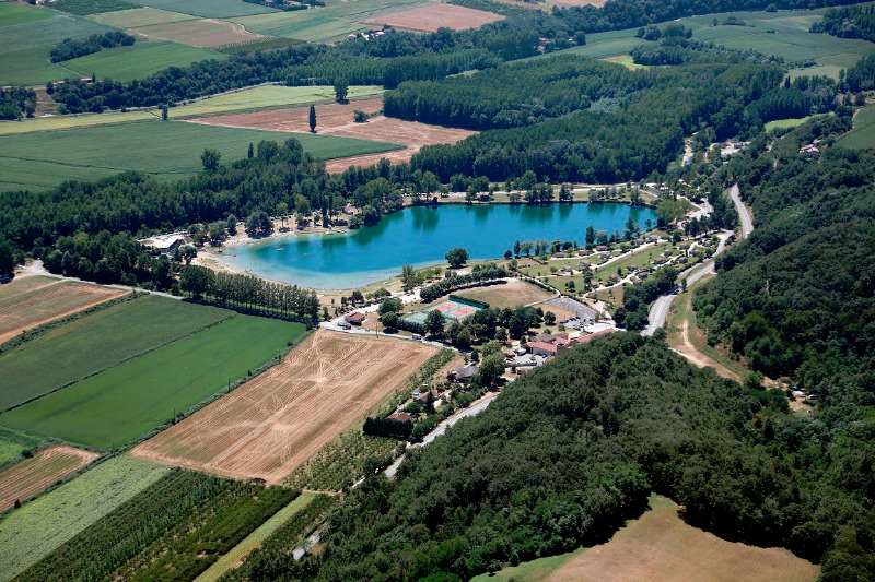 Campingplatz Domaine du Lac de Champos Saint Donat Sur L'Herbasse
