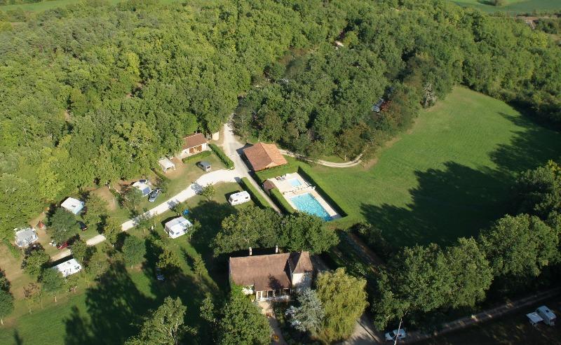 Campingplatz Le Paradis Gourdon