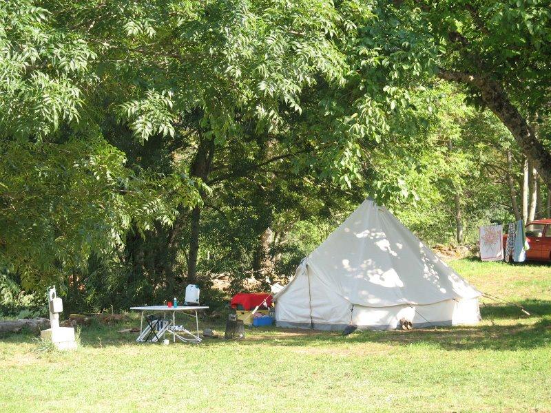 Campsite La Moliere Vebron