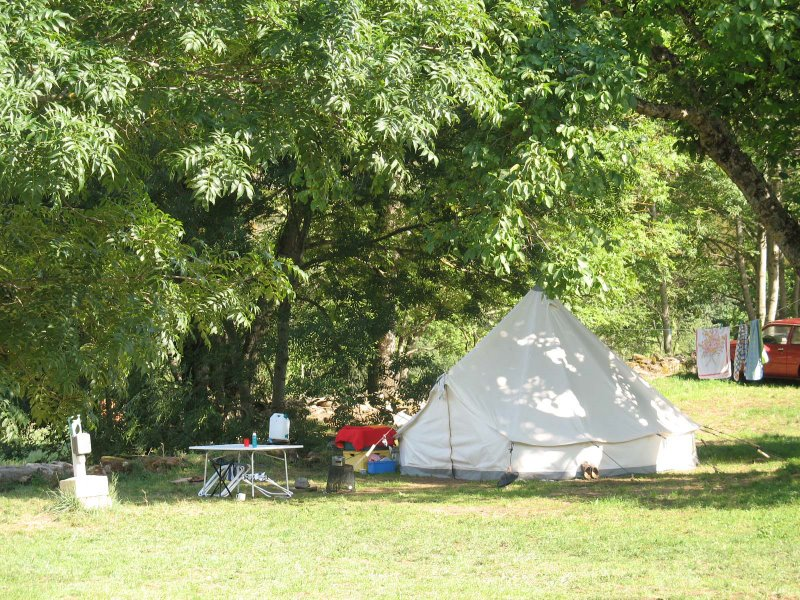 Camping La Moliere Vebron