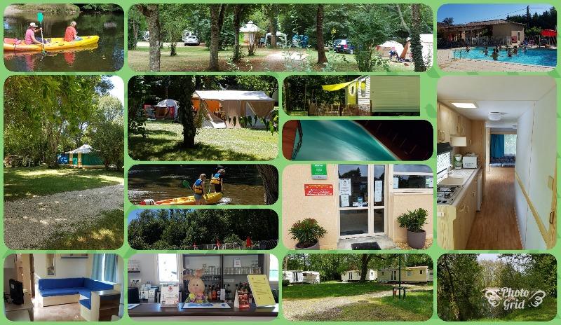 Campingplatz Camping de L'Ilot *** Cubjac