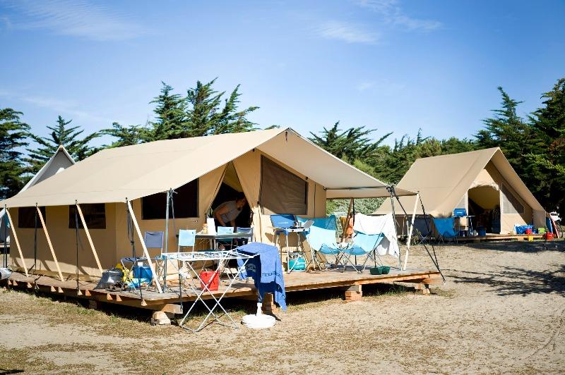 Campsite Huttopia Côte Sauvage Sainte Marie de Re