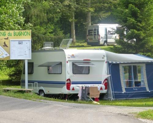 Campsite du Bugnon Lac des rouges truites