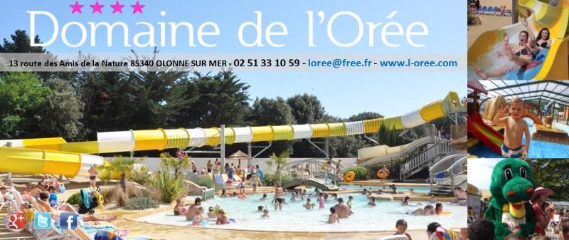 Campingplatz Domaine de L'Orée Olonne sur Mer