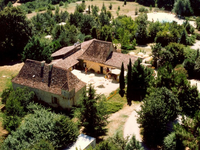 Campingplatz La Grande Veyiere Molieres