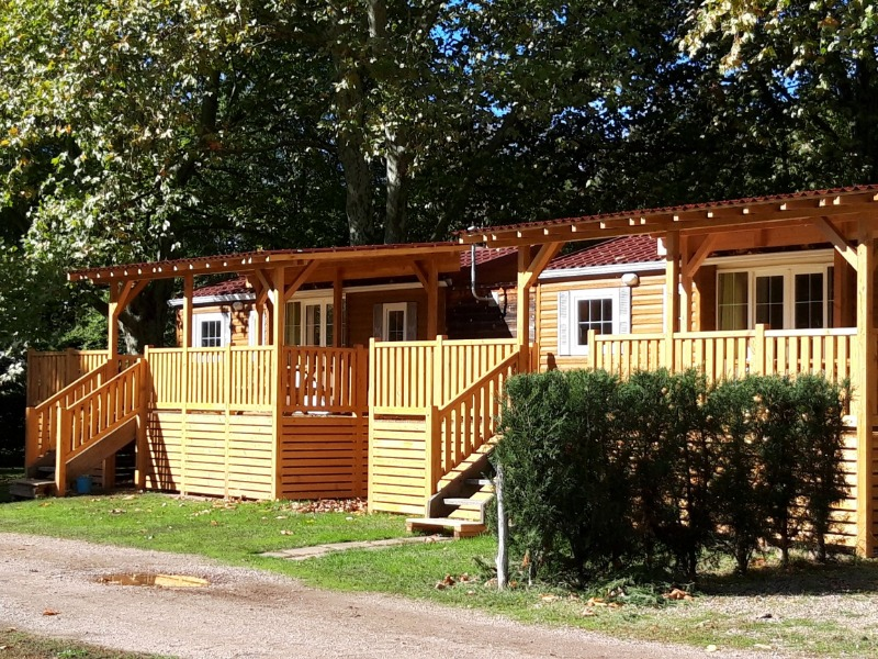 Campsite Des 2 Rives Etang Sur Arroux