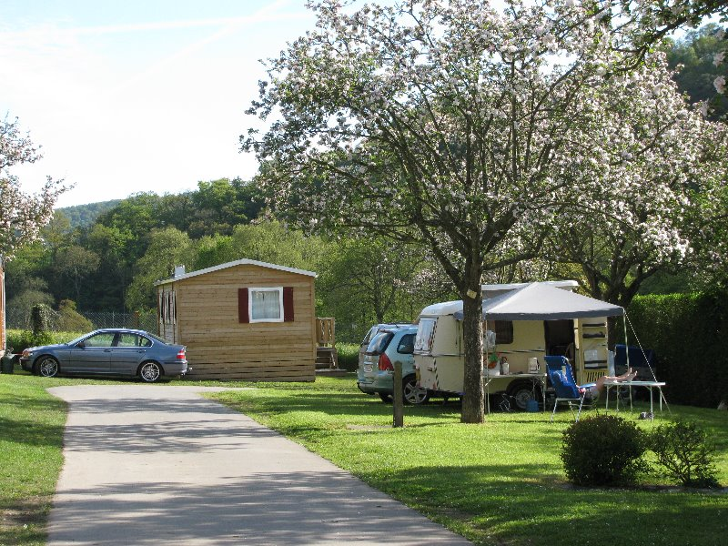 Campsite Les Rochers Des Parcs Clecy  Le Vey