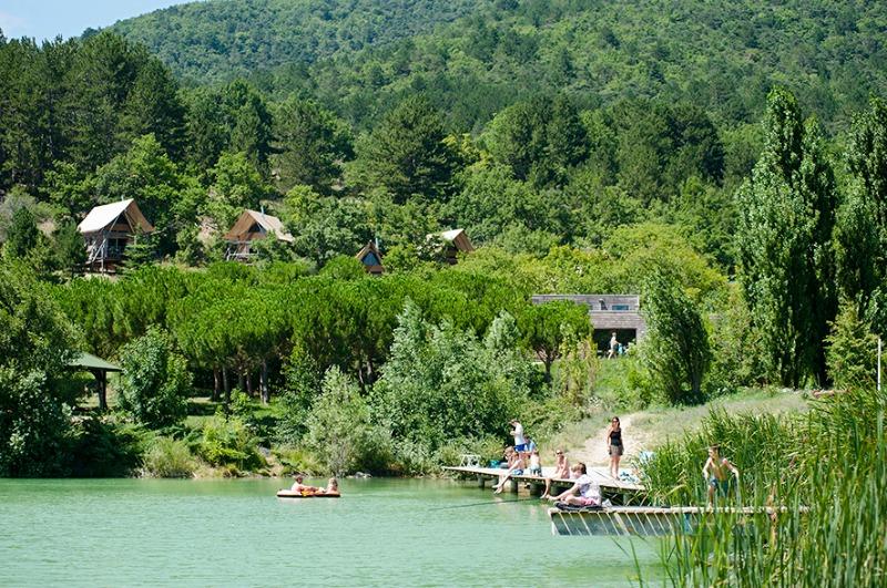 Campingplatz Huttopia Dieulefit Dieulefit