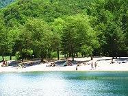 Campingplatz camping les 3 Lacs Rochebrune