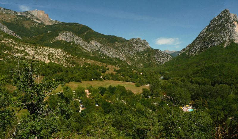 Campingplatz Chasteuil Provence Castellane