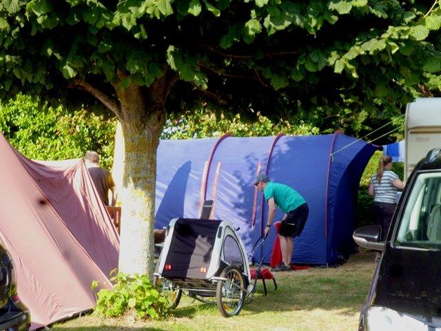 Campsite Le Clos Tranquille Saint Cast Le Guildo