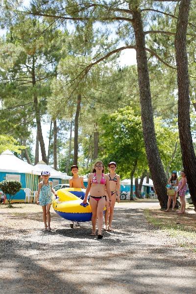 Campingplatz Campeole Navarrosse Biscarrosse