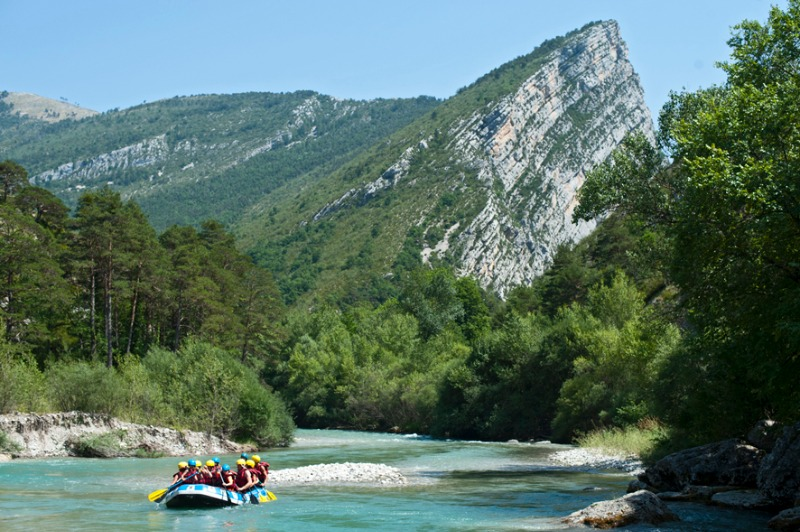 Campsite Huttopia Gorges du Verdon Castellane