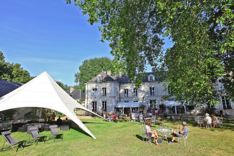 Campingplatz Chateau De Chanteloup les castels Sille Le Philippe