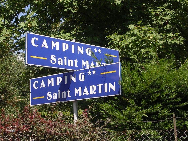 Campsite Saint Martin Barr