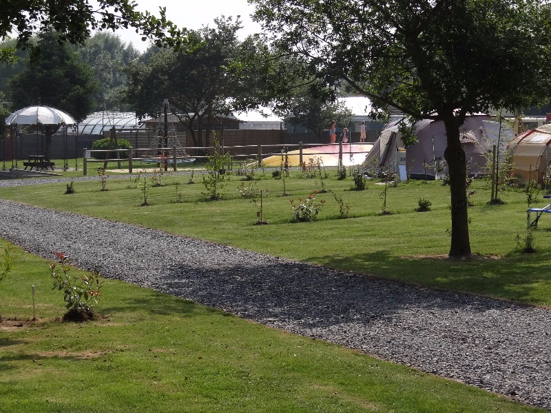 Campsite La Roseraie d'Omaha Surrain