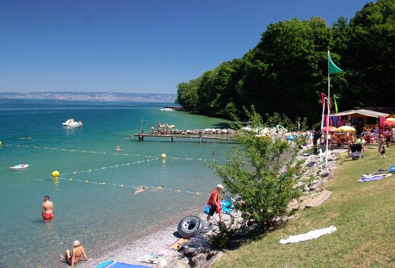 Campingplatz Saint Disdille Thonon Les Bains