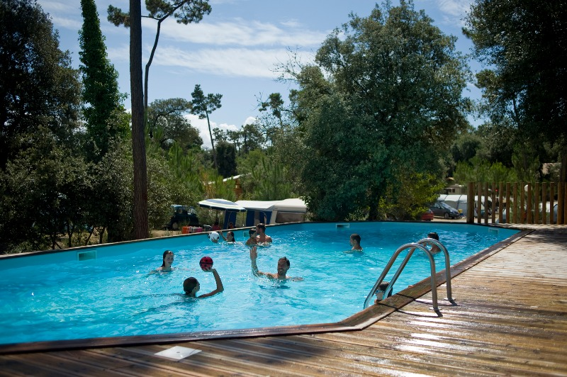 Camping Huttopia Oléron les Pins Saint Trojan Les Bains