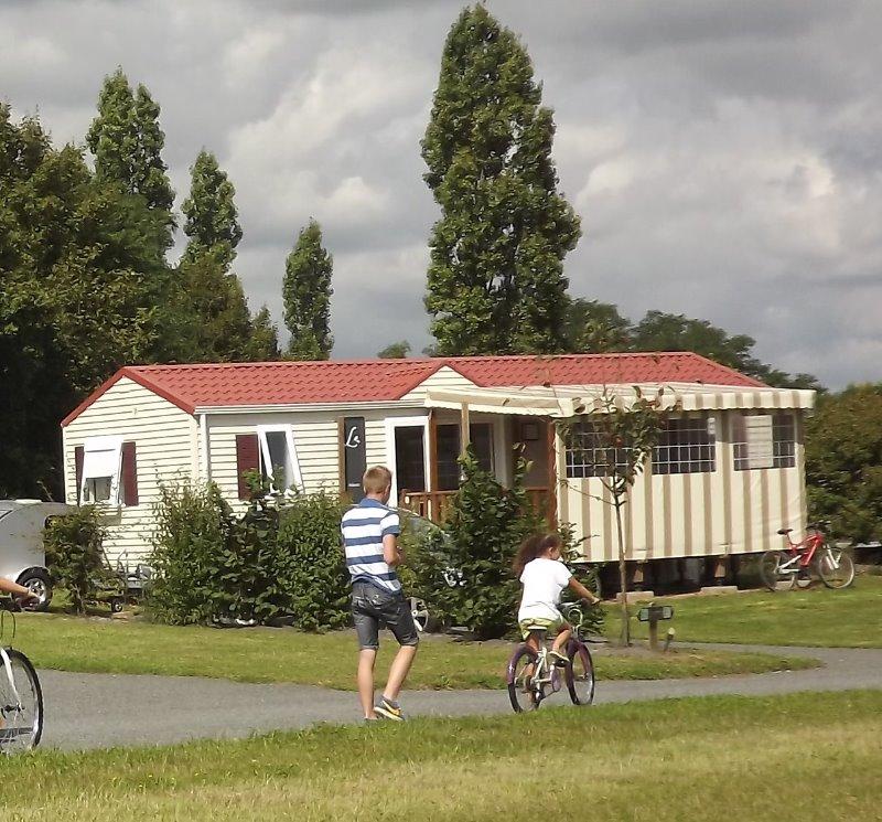 Campingplatz LES LOGIS DE L'OUMOIS MAULEVRIER