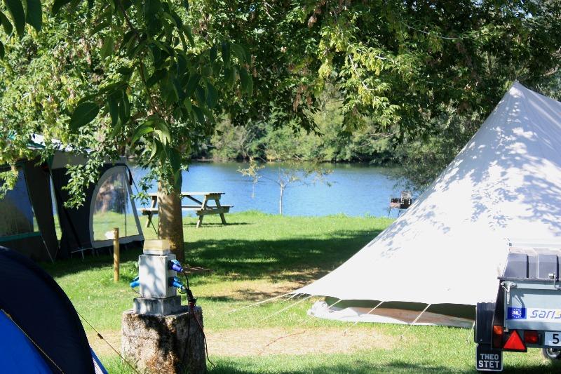Campingplatz Base Nautique Floiras Anglars-Juillac