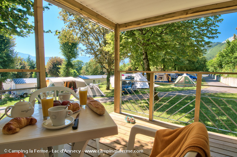 Campsite LA FERME Lathuile