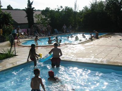 Campingplatz Le Pouchou Courbiac